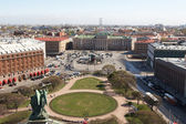 Issakievskaya Square and the Mariinsky Palace — Stock Photo