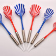 Color darts — Stock Photo