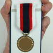 Blank medal — Stock Photo