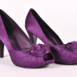 Purple women's shoes — Foto de stock #9029474