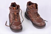 冬の靴 — ストック写真