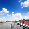 View of the Kremlin Embankment - Stock Photo
