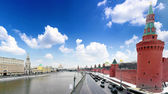View of the Kremlin Embankment — Stock Photo