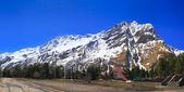 Bela vista das montanhas da região da elbrus. Vista Terra. — Fotografia Stock