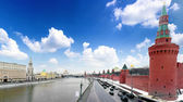 View of the Kremlin Embankment — Stockfoto