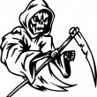 Grim reaper - Halloween Set - vector illustration - Imagen vectorial
