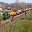 Freight diesel train — Stock Photo #10443956