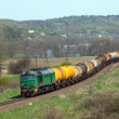 Freight diesel train — Stock Photo #10451715