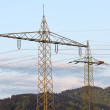 Stock Photo: High-Voltage Towers