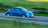 Fast Car With Motion Blur — Stock Photo