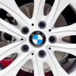BMW Aluminium Wheel - Stock Photo