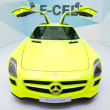 Mercedes SLS AMG E-CELL — Stock Photo