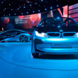 Stock Photo: BMW i3 and i8 Concept Cars
