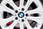 BMW Aluminium Wheel — Stock Photo