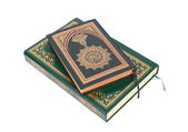 Two Examples of The Holy Quran — Stock Photo