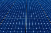 Blue Solar Panels — Stock Photo