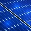 Photovoltaic solar panel - Stock Photo