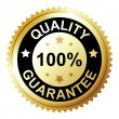 Quality guarantee — Stockvektor