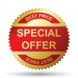 Vector de stock : Special offer