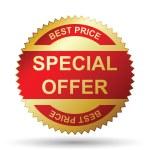 offerta speciale — Vettoriale Stock
