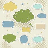 Speech bubbles — Stok Vektör