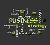 BUSINESS strategy — Stock vektor