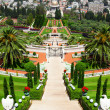 Bahai Gardens in Haifa Israel. — Stock Photo