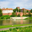 Wawel - Royal castle in Cracow, Poland — Stock Photo