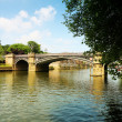 Bridge and river in York, uk — Stock Photo