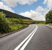 Road in the countryside,uk — Stock Photo