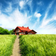 New rural house - Foto Stock