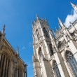 York Minster Yorkshire England under blue sky — Stock Photo #8614594