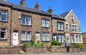 Typical english architecture,Yorkshire uk — Stock Photo