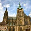 St. Vitus Cathedral in Prague, Czech Republic — Stock Photo #8675856