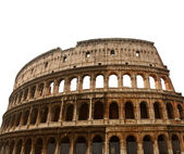 Colosseum or Coliseum in Rome, isolated — Photo