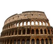 Koloseum czy koloseum w rzymie, na białym tle — Zdjęcie stockowe