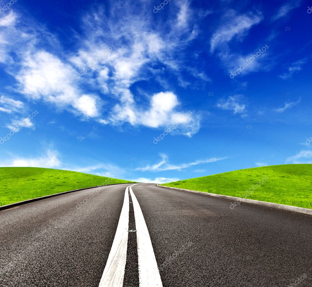 Road ahead — Stock Photo #9029351