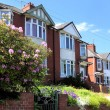 Row of Typical English Terraced Houses — Stock Photo #9052034