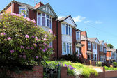 Row of Typical English Terraced Houses — ストック写真