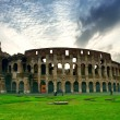 Colosseum in Rome, Italy - Stock Photo