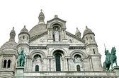 Cathedral Sacre Coeur, Montmartre,Paris — Stock Photo