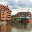 Old Town of Gdansk in Poland - Stock Photo