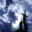 Crucifixion of Jesus — Stock Photo #10037845