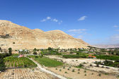 Mount of Temptation in Jericho — Stock Photo