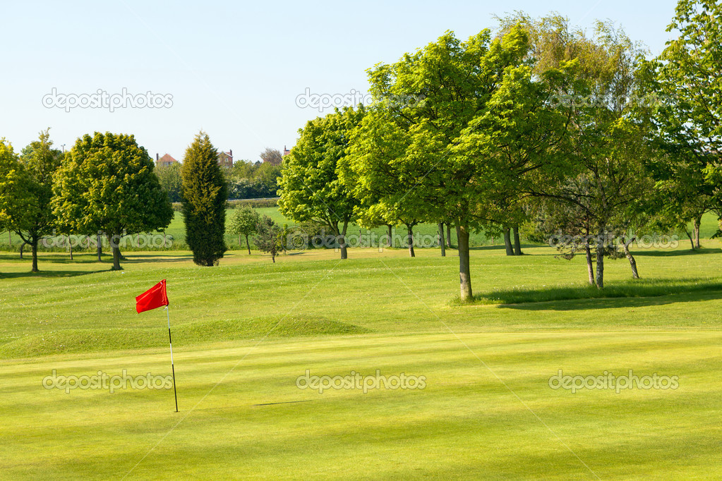 Golf field — Stock fotografie #10710146