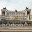 Piazza Venezia in Rome, Italy — Stock Photo