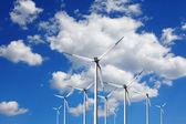 Turbína na blue sky — Stock fotografie