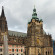 Cathedral in Prague - Stock Photo