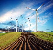 Wind des wandels-ökologie — Stockfoto