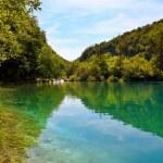 Plitvice Lakes national park in Croatia — Stock Photo #8425903